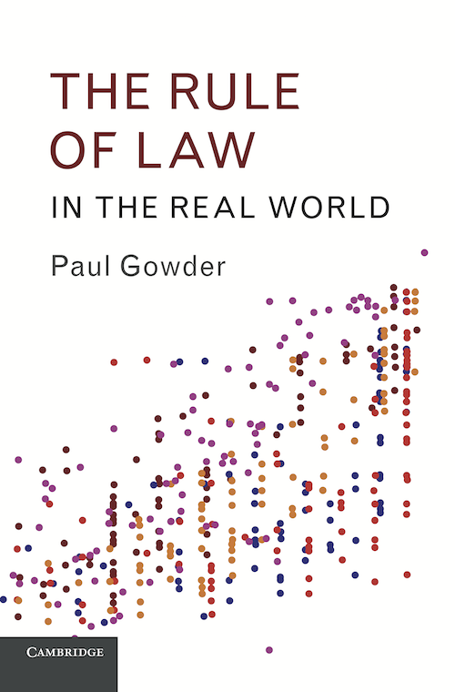 The Rule of Law in the Real World cover image